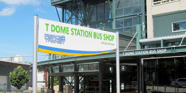 Dome District Bus Stop